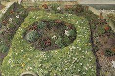 Cottage Garden by Stanley Spencer (1891-1959, England)