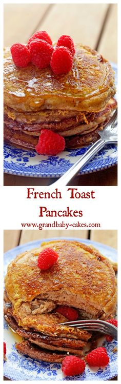 French Toast Pancakes and GIVEAWAY! French Toast and Pancakes Collide in these … French Toast Pancakes and GIVEAWAY! French Toast and Pancakes Collide in these delish recipe from the Stack Happy Cookbook! What's For Breakfast, Breakfast Pancakes, Breakfast Dishes, Breakfast Recipes, Breakfast Casserole, Breakfast Crockpot, Pancake Recipes, Pancakes Easy, Breakfast Healthy