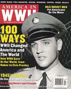#ad AMERICA IN WORLD WAR ll Magazine October 2010  ELVIS PRESLEY http://rover.ebay.com/rover/1/711-53200-19255-0/1?ff3=2&toolid=10039&campid=5337950191&item=132563970984&vectorid=229466&lgeo=1