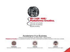 Piattaforma Creativa. Brochure