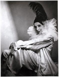 Karen Blixen, aka Isak Dinesen, in costume;)