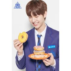 The fourth instalment of South Korea's most phenomenal reality survival show, 'Produce Produce X Mnet's latest boy group survival show - trainees' p. Woollim Entertainment, Kim Dong, Golden Child, Boy Groups, Cantaloupe, Pineapple, Fruit, Food, Project 4