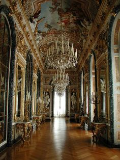 Schloss Herrenchiemsee (Herrenchiemsee Palace), Herreninsel, Bavaria, Germany