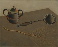 Joan Miró – Still Life I, 1922-23, Oil on canvas, 37.8 x 46 cm | MoMA