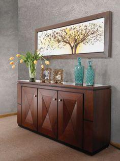 mueble trinchador para comedor ikea modelo bjursta en caso de no contar con una barra una buffetera es la opcin perfecta para