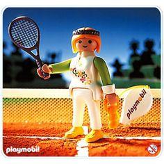 #tenista #playmobil muy antigua! de 1994! #descatalogado disponible en playmyplanet.com Hockey Players, Tennis Players, Playmobil Sets, Ice Hockey, Image Sharing, Tennis Racket, Sports, Figurative, Antigua