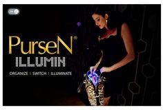 Genius! A purse organizer that lights up!