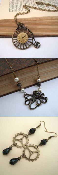 Pirate Treasures Steampunk Jewellery