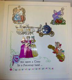 Disney-Limited-Edition-of-250-Pin-Set-Classic-CINDERELLA-W-LADY-TREMAINE