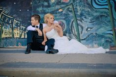 Wedding Graffiti Photo... I want this when I get married