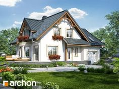 Dom w tamaryszkach 3 Home Fashion, Exterior, Cabin, Mansions, House Styles, Virginia, Home Decor, House Beautiful, Architecture