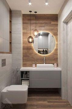 Spa Bathroom Decor, Bathroom Colors, Bathroom Interior, Bathroom Lighting, Bathroom Ideas, Window In Shower, Inside Design, Modern Bathroom Design, Modern Minimalist