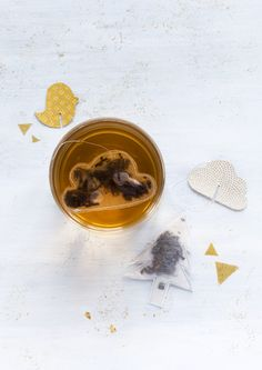Homemade cloud tea bag