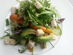 porkkana-avokado. Salaatti nro 28.