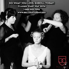 Start your career in beauty and wellness! http://www.bellusacademy.edu/ #BellusAcademy #beauty #wellness