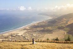 Ocean Beach wedding, Hawke's Bay, New Zealand