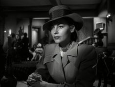 Film Noir Style: Ava Gardner in The Killers Barbara Stanwyck, Fred Astaire, Golden Age Of Hollywood, Vintage Hollywood, Classic Hollywood, Ava Gardner Movies, Classic Film Noir, Grey Trench Coat, The Third Person
