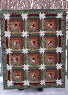 Quilt in a Day - My Star Log Cabin quilt - El's Corner: Star Log Cabin - Community Forum