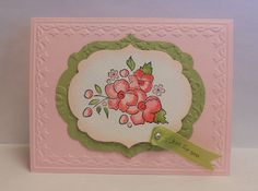 Stampin' Up! Bordering on Romance