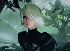 Game Character, Character Design, Neir Automata, Render Design, Kingdom Hearts 3, Archetypes, Scenery, Photo Wall, Fan Art