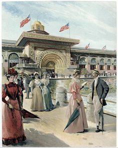 Chicago World's Fair, 1893, World's Columbian Exposition, Women's Pavillion