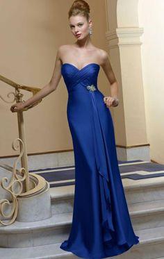 Simple Long Royal Blue Tailor Made Evening Prom Dress(BNNAJ0054) cheap…