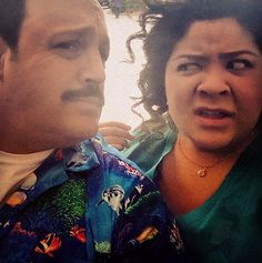 "Photo: Raini Rodriguez And Her ""Paul Blart: Mall Cop 2″ Co-Stars April 22, 2014"
