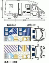 Island Wohnmobil - Island Wohnmobil mieten, 4-Bett Camper MH4