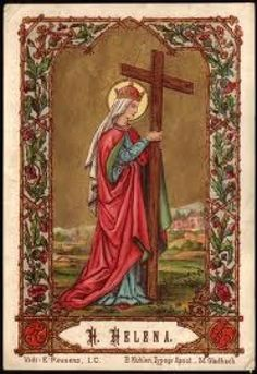 Holy Card Heaven: Exaltation of the Holy Cross: Solemnity, September 14 Catholic Art, Catholic Saints, Patron Saints, Roman Catholic, Religious Pictures, Religious Icons, Religious Art, Santa Helena, Santa Marta