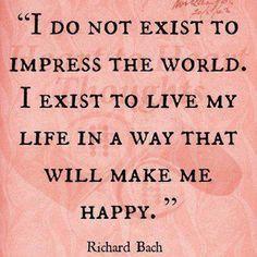 the secret of possessing joy.