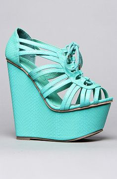 *Sole Boutique The Chandlar Shoe in Teal