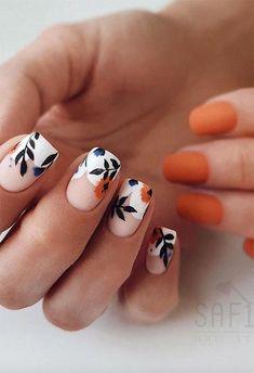 Nail Design Spring, Spring Nail Trends, Spring Nails, Cute Nails For Spring, New Nail Trends, Summer Nails, Short Nail Designs, Fall Nail Designs, Classy Nail Designs