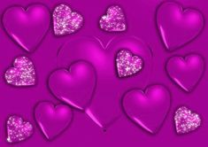 Glitter Graphics Hearts | ... .org/english-graphics/hearts/heart-purple-glittering-graphic