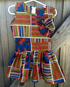 Tribal Dress Toddlers 2/3 by lishyloo on Etsy