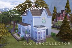 """raindropsoncowplants: """" Gothic Revival Build Set Whew, this took forever, but it's finally done! I was thinking of what to build for r/thesims Bi-Weekly Build Challenge this week, and decided I wanted. Roof Decoration, Gable Decorations, The Sims 4 Lots, Dormer Roof, Door Picture, Sims 4 Build, Passion Flower, Sims 4 Custom Content, Custom Lighting"""