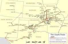 Ozark Trail (auto trail) - Wikipedia, the free encyclopedia