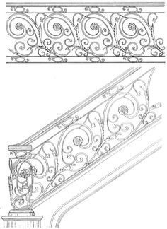 Stair Railing Designs ISR057