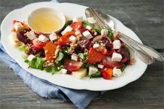 Caprese Salad, Cobb Salad, Prawn Salad, Pasta Salad Italian, Pasta Salad Recipes, 20 Min, Quick Meals, Cucumber, Food And Drink