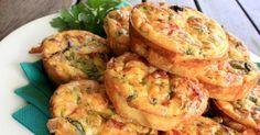 Recette de Mini quiches light sans pâte courgettes, carottes et curry. Facile et rapide à réaliser, goûteuse et diététique.