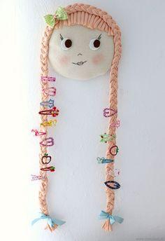 Aprende cómo hacer un hermoso porta accesorios de cabello para niñas