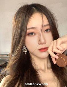 Ulzzang Hair, Ulzzang Korean Girl, Fancy Makeup, Makeup Looks, Up Girl, Girl Day, Asian Wedding Makeup, Nct Ten, Cute Girl Face