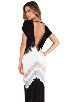 Young, Fabulous & Broke Jaxon Maxi in Black Macaw  - A NOSE FOR CLOTHES