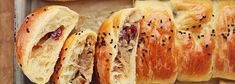 Mushroom, cabbage and dried cranberries filled pasties Veg Recipes, Vegetarian Recipes, Snack Recipes, Cooking Recipes, Snacks, Xmas Food, Christmas Cooking, Pastry Dishes, Bread Winners