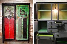 Upcycled furniture by Fox & Dinky, Bendigo