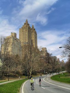Bike Riding in New York's Central Park