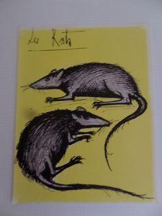 Bernard Buffet - The Ratts