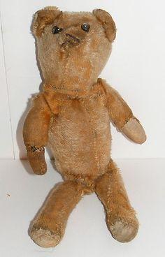 Antique American stick teddybear