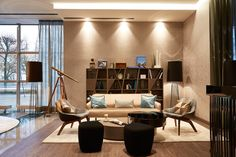 Le Méridien Hamburg by JOI-Design | Hotel interiors