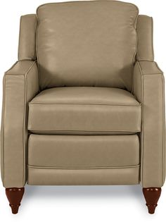 Dane Leather push back recliner chair