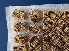 Barres au quinoa, beurre d'arachides et bananes - On s'en food